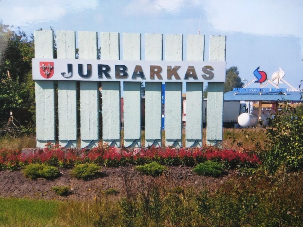 Ankunft in Jurbarkas