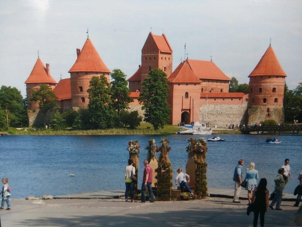 Die Wasserburg von Trakai in Litauen -- Trakai - einstige Hauptstadt von Litauen