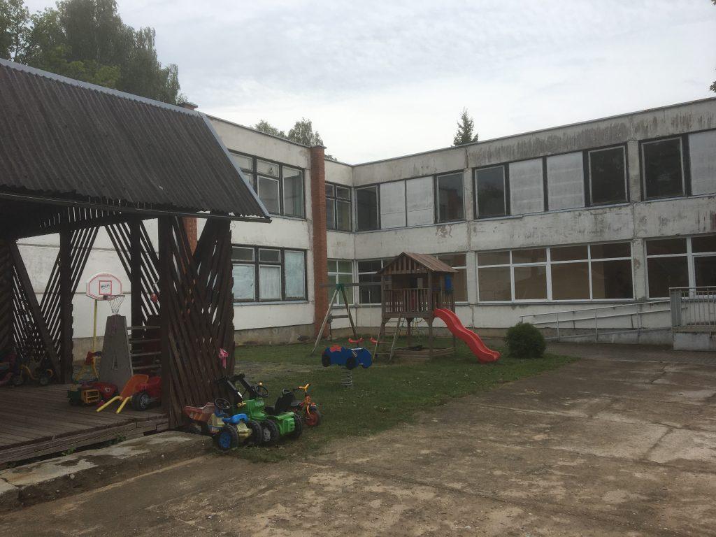 Ein Kinderheim in Litauen
